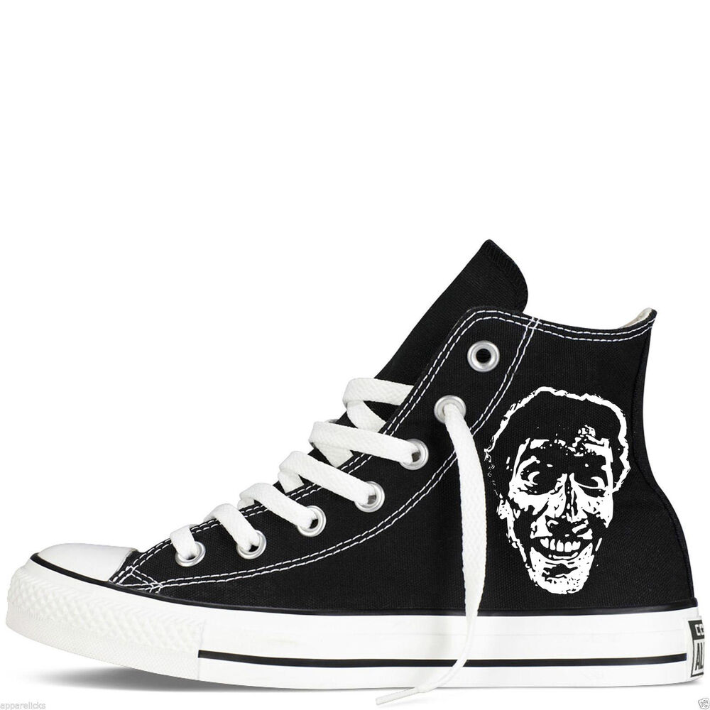 d0cc9fd3433 Details about evil dead custom converse all star mens womens horror ash  bruce hightops