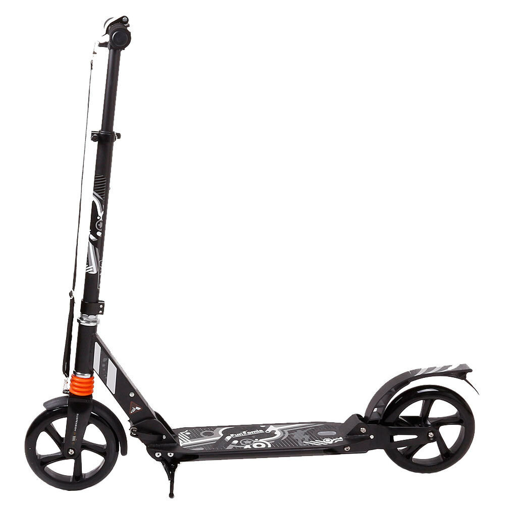 kick scooter alu city roller tretroller gro e 200mm rollen abec 11 klappbar 3004 ebay. Black Bedroom Furniture Sets. Home Design Ideas