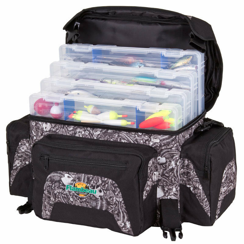 Large soft sided tackle bag box fishing course fly carp for Large tackle boxes for fishing