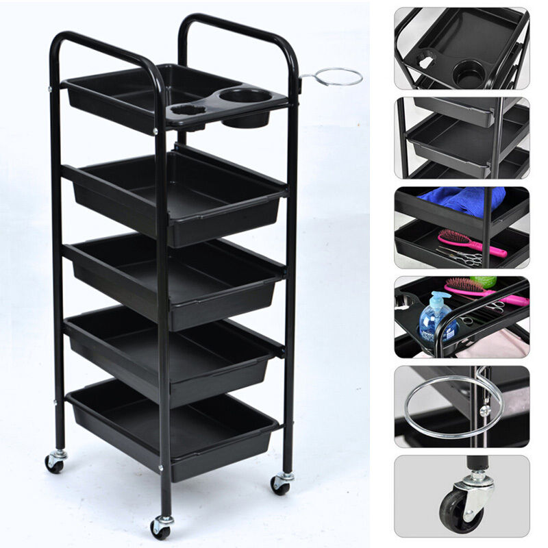 Beauty salon spa styling station trolley equipment rolling for Salon trolley