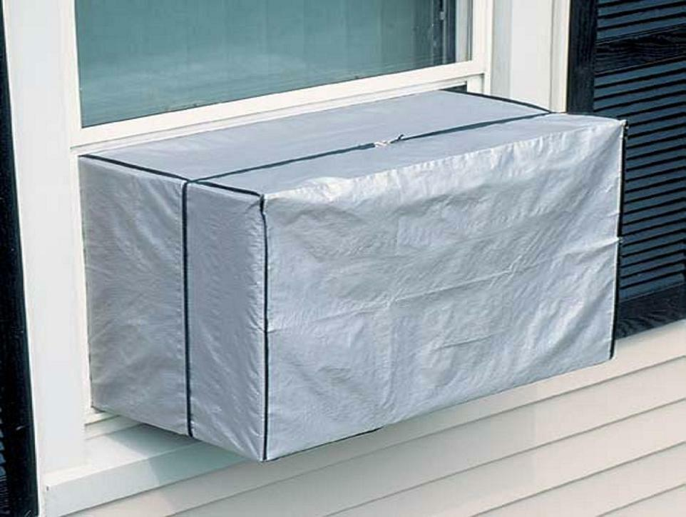 Air conditioner cover heavy duty ac outdoor window unit for 12 inch high window air conditioner