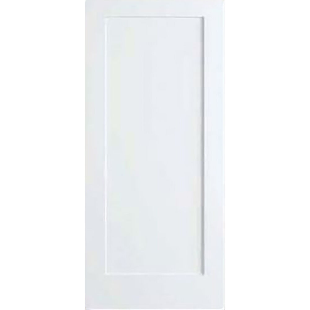 1 Panel Door Kimberly Bay Interior Slab Shaker White Ebay