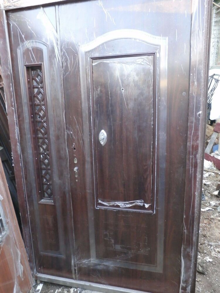 Front Exterior Heavy Duty Metal Doors 62 X 96 High End