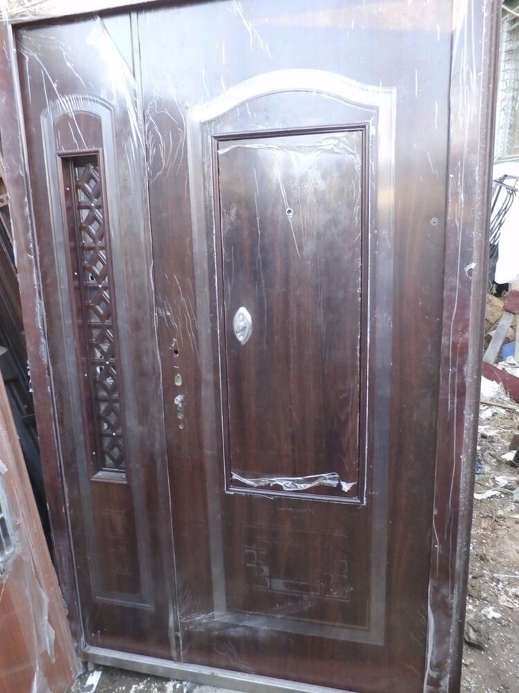 Front Exterior Heavy Duty Metal Doors 62 39 39 X 96 39 39 High End