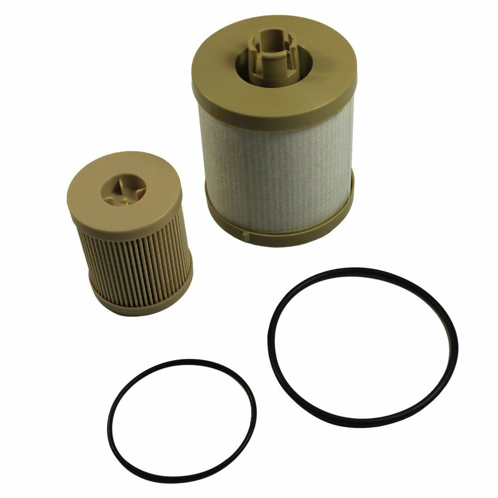 new fuel filter fd4616 fd4604 for ford diesel 6 0 f450. Black Bedroom Furniture Sets. Home Design Ideas