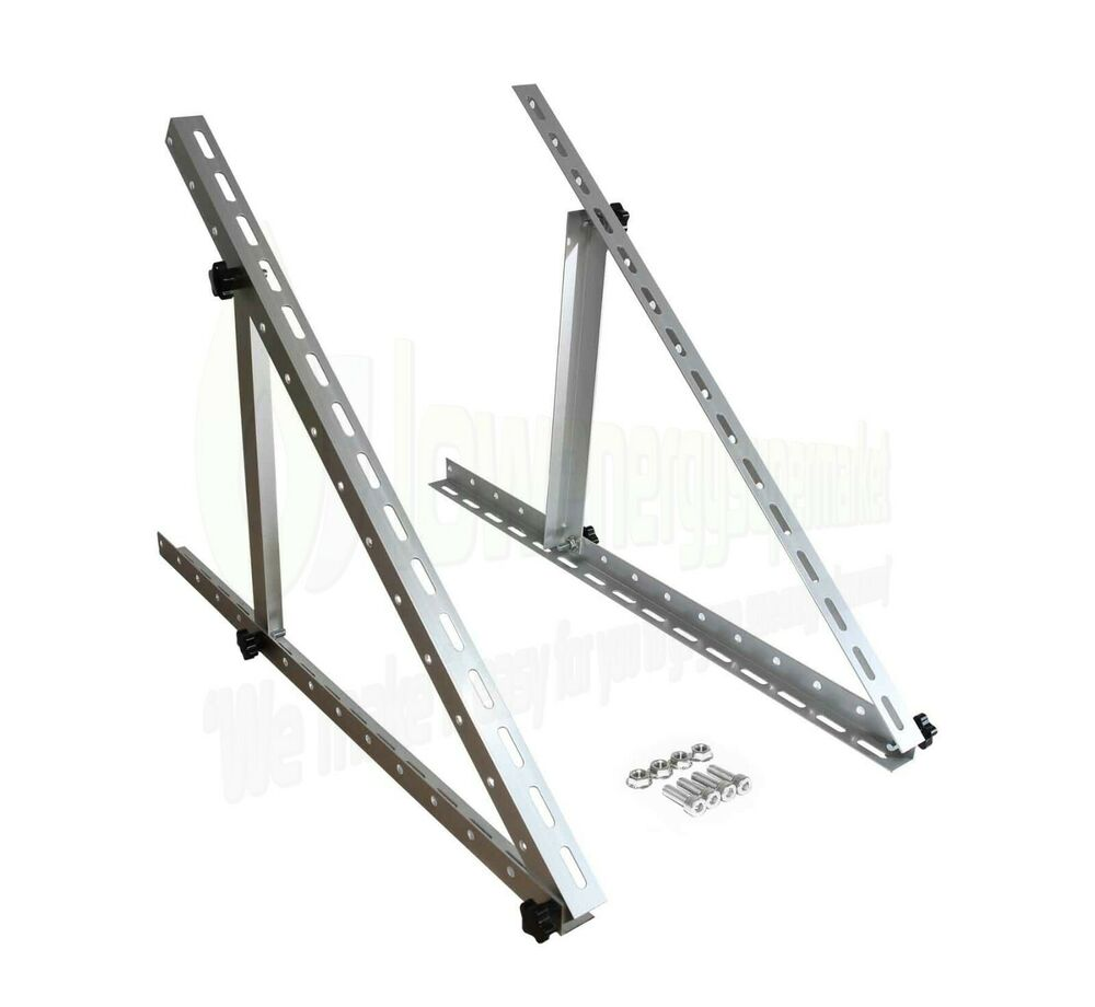 Adjustable Angle Solar Panel Mounting Frame Brackets Shed