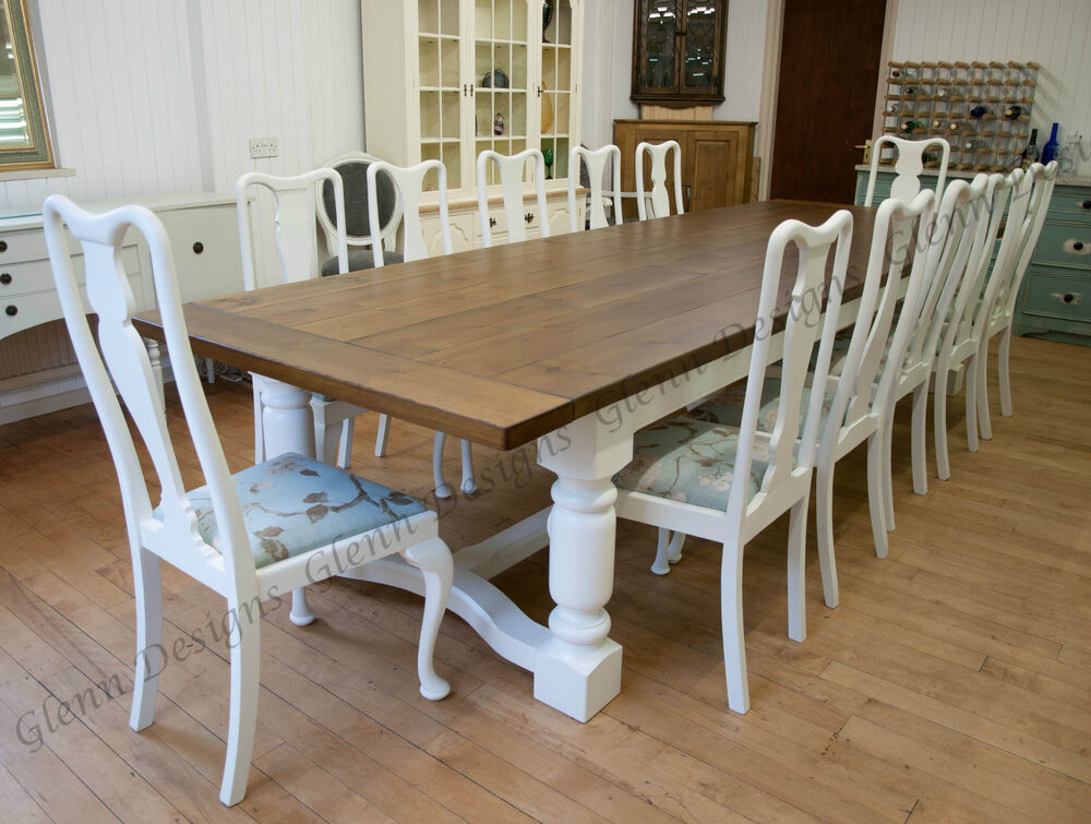 8 10 12 14 16 20 Seater 5 Leg Triple Dining Table