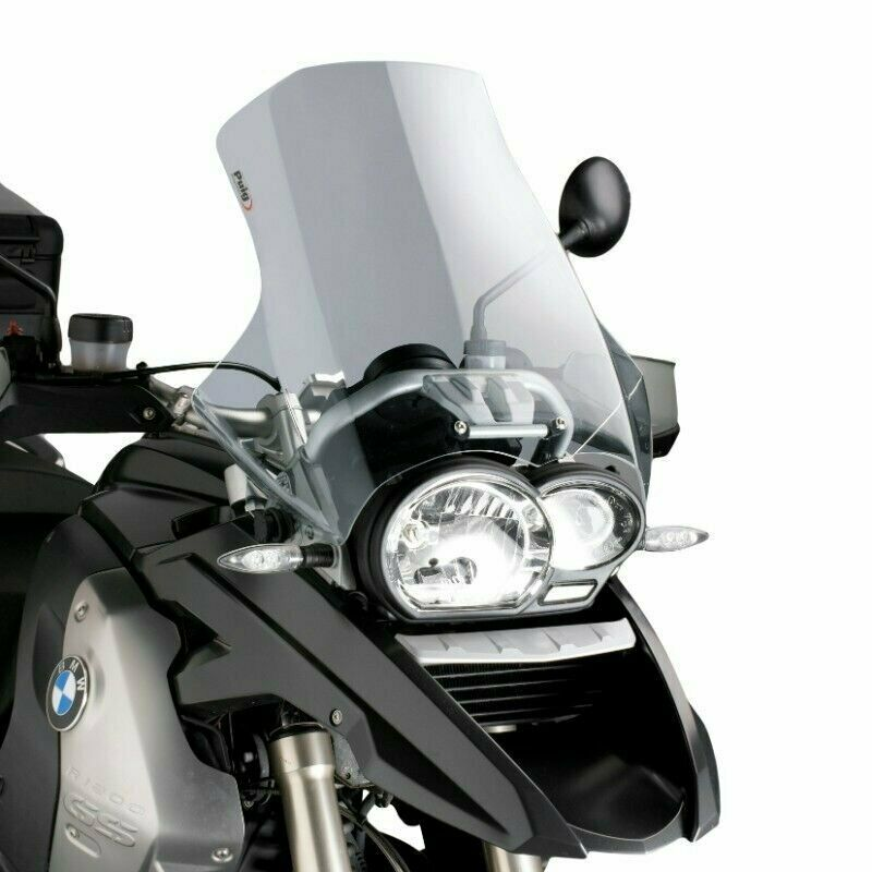 04 14 bmw r1200gs puig touring windscreen light smoke. Black Bedroom Furniture Sets. Home Design Ideas