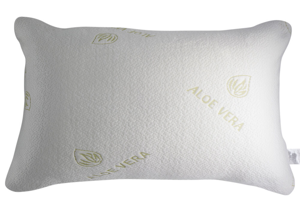Bamboo Pillow Queen Cooling Memory Foam Pillow Natural