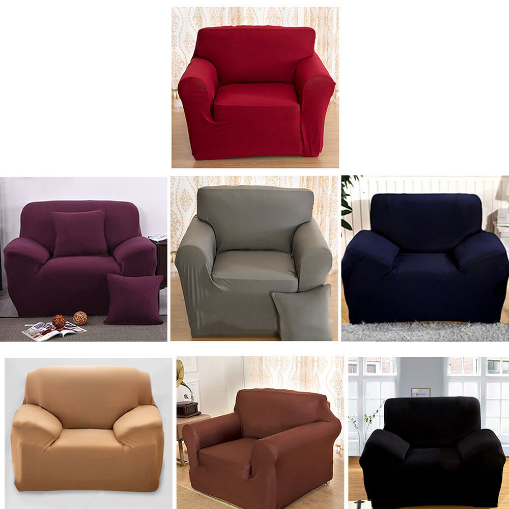 1 2 3 4 Seaters Washable Easy Fit Sofa Slip Covers Stretch