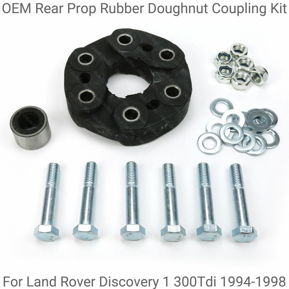 Oem Rear Propshaft Rubber Doughnut Coupling Kit For Discovery 1 Land Rover 300tdi 94 98 Ebay