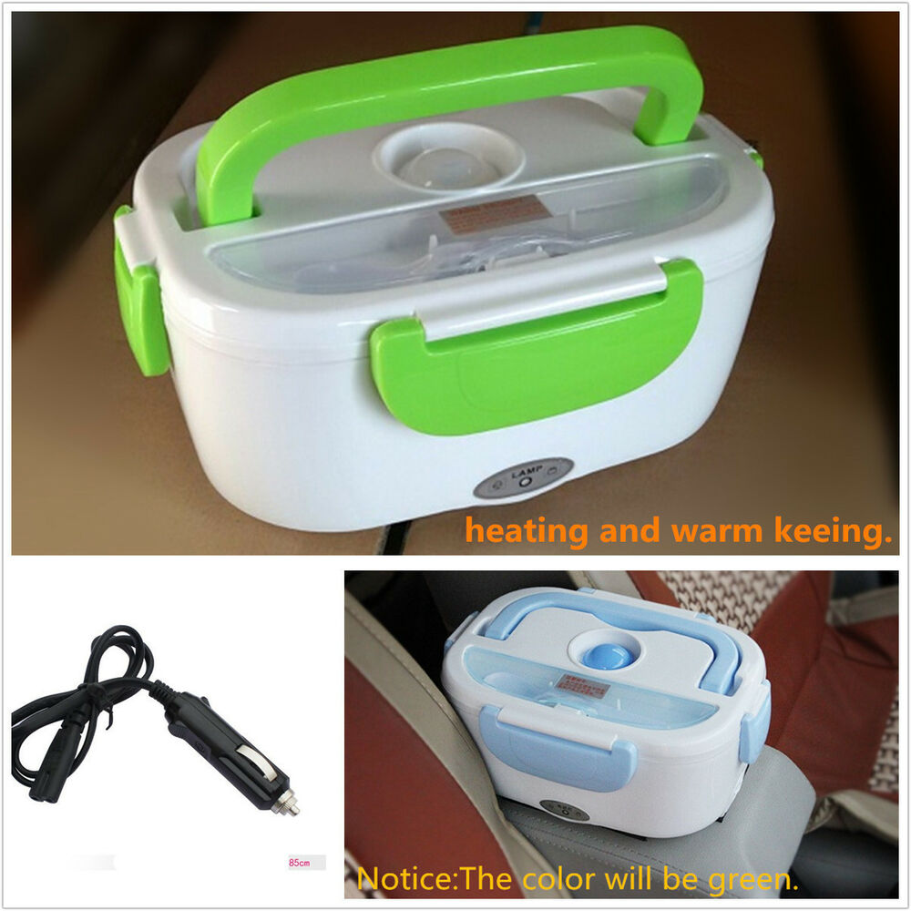 12v Portable Electric Heating Lunch Box Meal Heater Rice