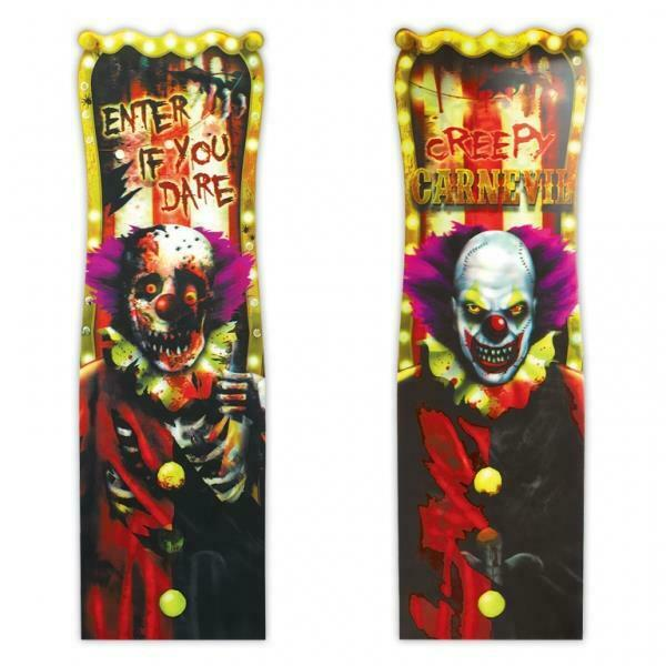 Halloween Creepy Carnevil Clown Lenticular/Picture Change ...