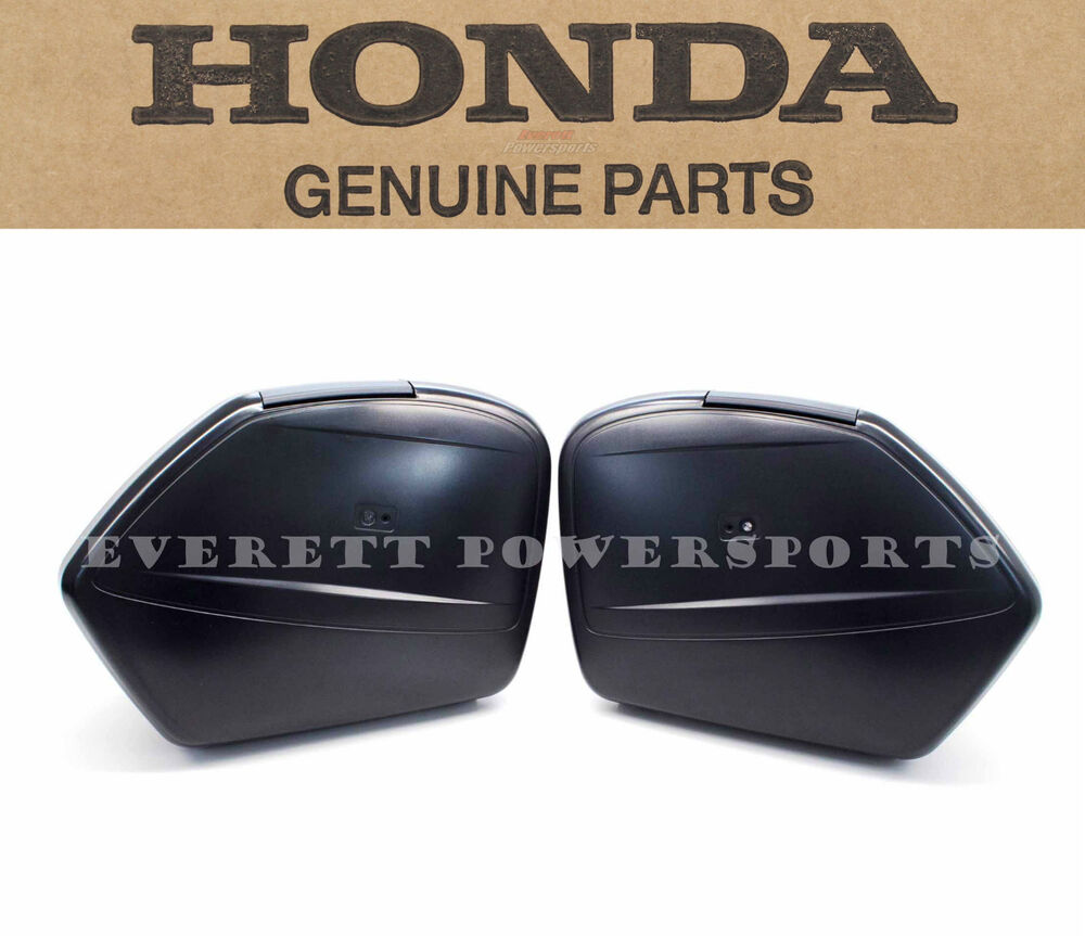 New Genuine Honda Hard Side Bags 2012-2015 NC700 X XD ...