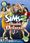 Sims 2: Double Deluxe (PC Windows, 2008) DVD-ROM Complete 3 Games w/Manual-mint