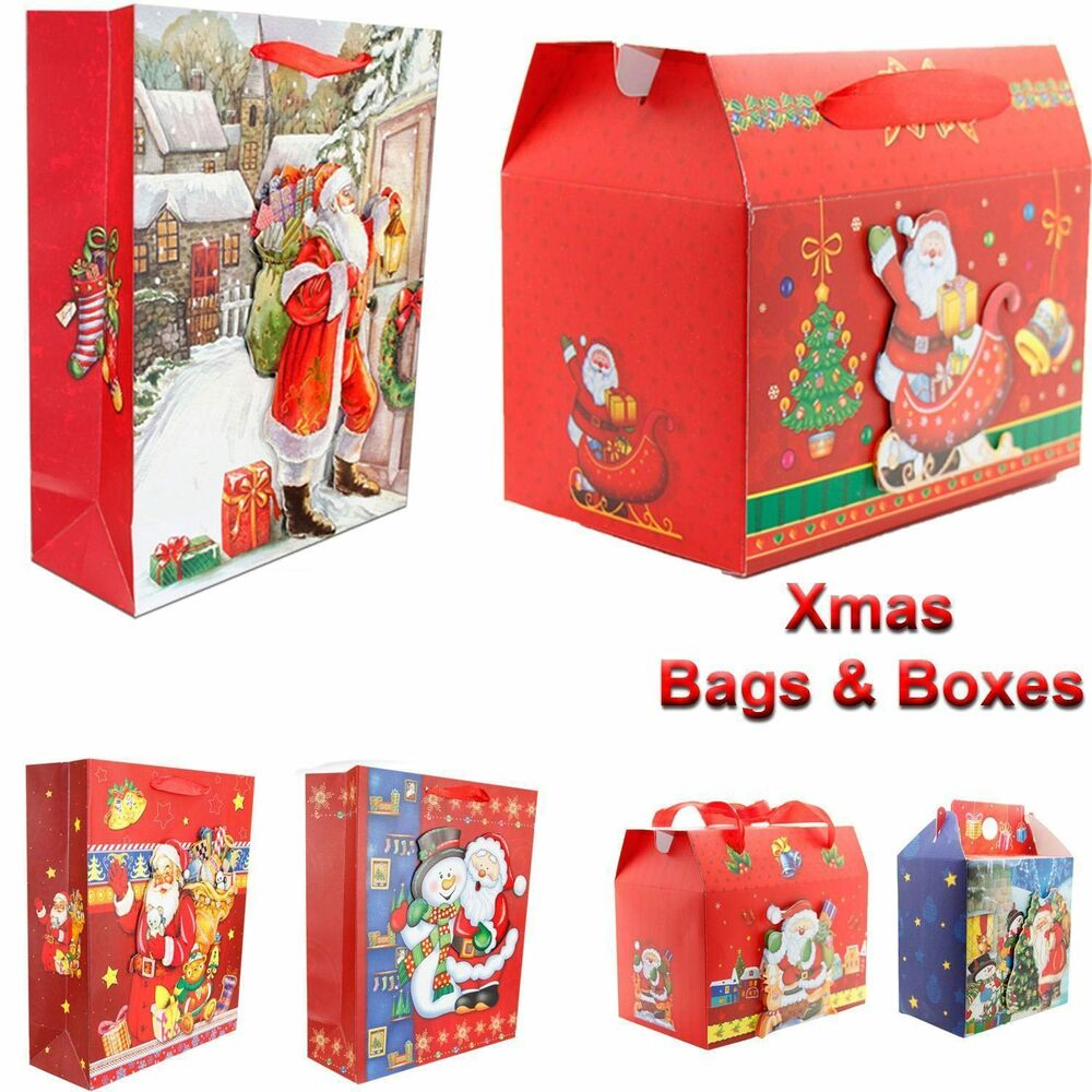New Christmas Festive Gift 3 D Xmas Party Wrapping Novelty