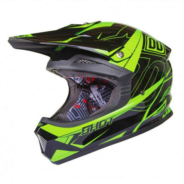 kinder jugend shot furious stellar mx motocross helm. Black Bedroom Furniture Sets. Home Design Ideas