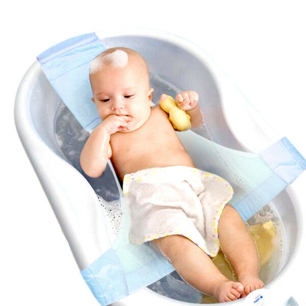 infant baby bath adjustable support for bathtub seat sling m