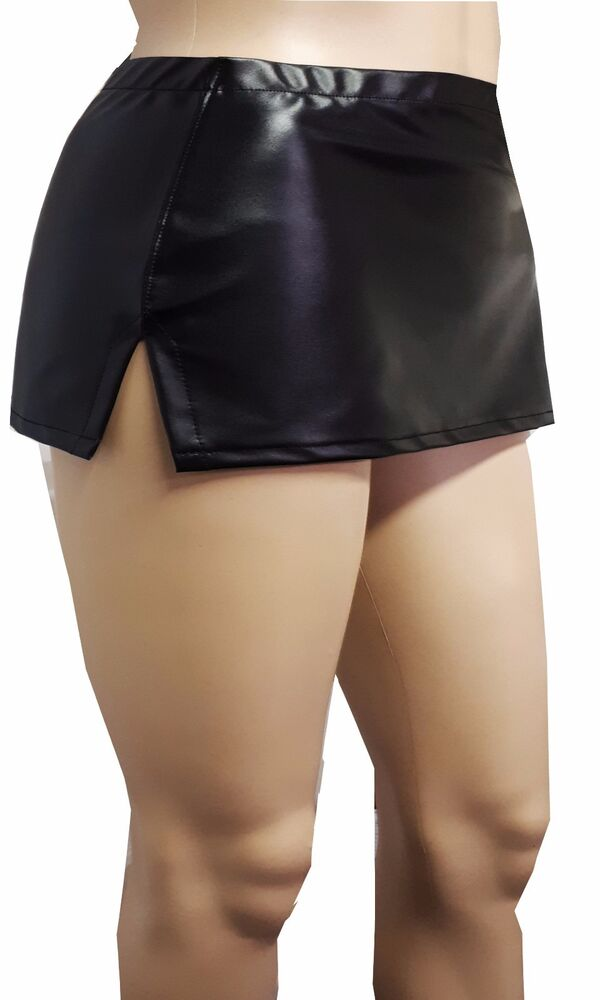 Leather Micro Skirt | eBay