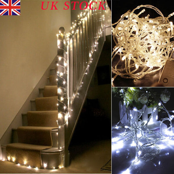 1-10M Battery Operated LED String Fairy Lights Xmas