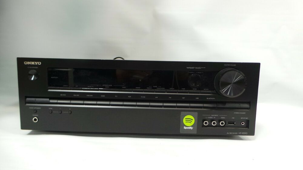onkyo ht r593 5 2 channel home theater receiver with bluetooth 44128 ebay
