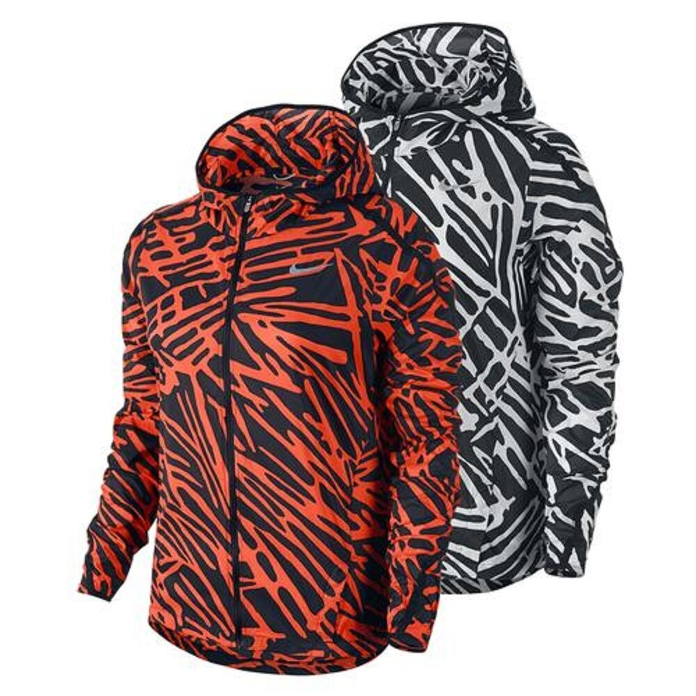 ce22ecd752 Details about Nike 803591 Women s  120 Impossible Light Jacket Hooded  Packable Running Shield