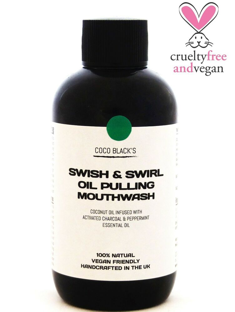 Natural Mouthwash With Coconut Oil