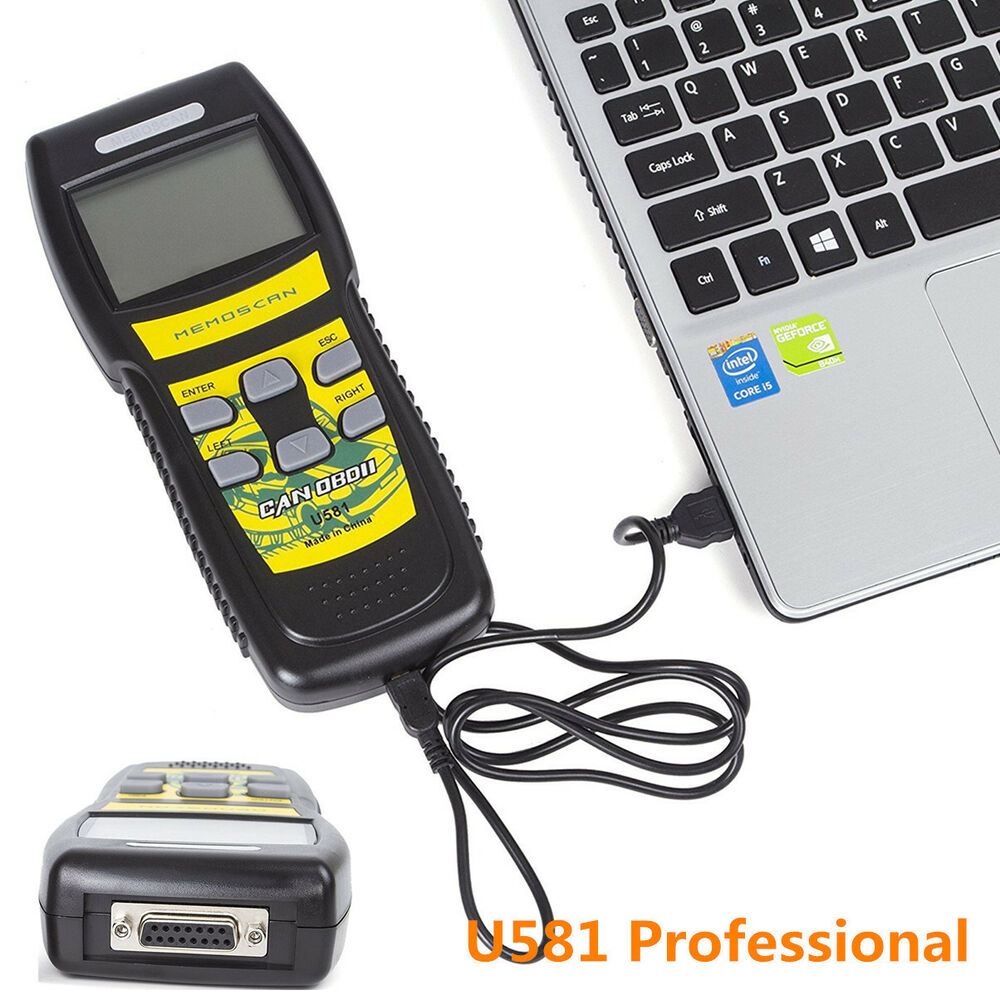 u581 car diagnostic scan tool can obd ii obd2 code scanner reader professional 4683812019468 ebay. Black Bedroom Furniture Sets. Home Design Ideas
