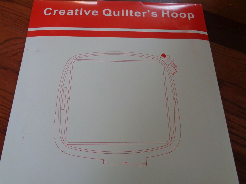 Embroidery quilter hoop for pfaff creative vision quot x