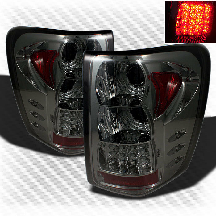 For Smoked 99 04 Jeep Grand Cherokee Led G2 Tail Lights