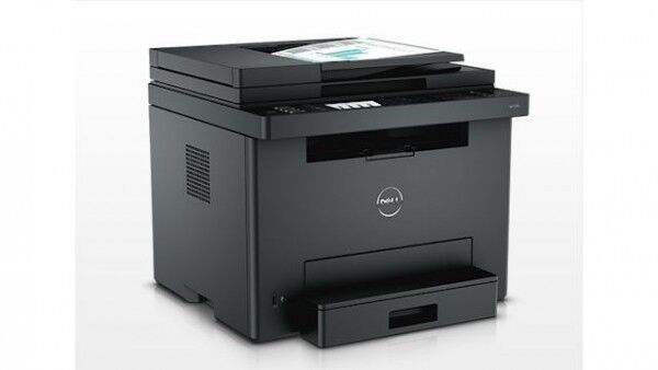 new dell e525w wireless color laser printer all in one copy scan fax 4 in 1 884116164043 ebay. Black Bedroom Furniture Sets. Home Design Ideas