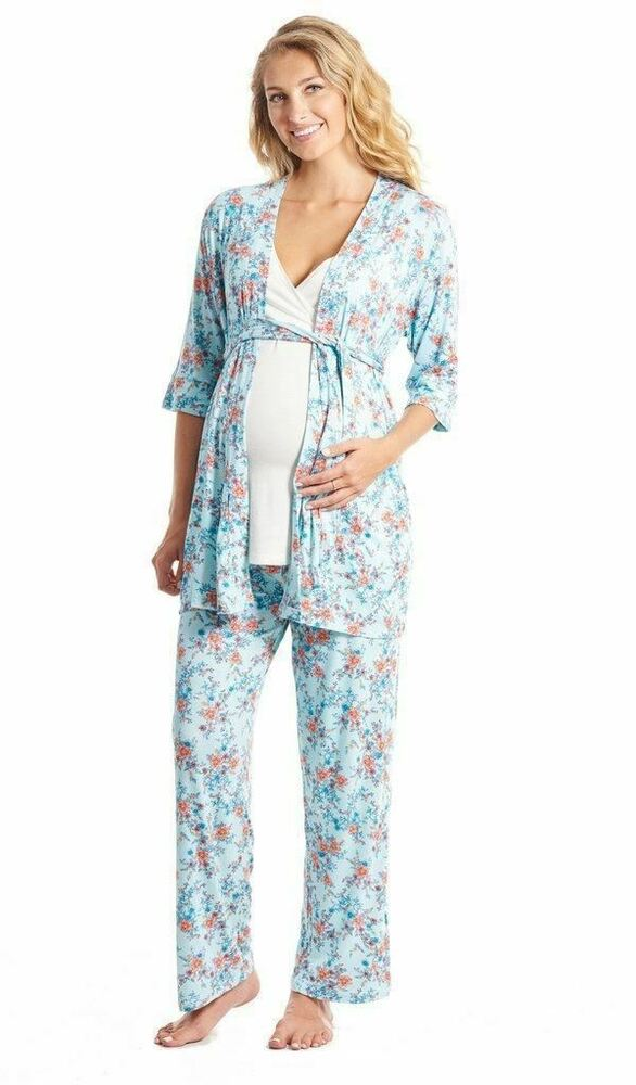 We go by three absolute must-haves when selecting nursing gowns and nursing pajamas for our collection: #1 It's a fact that lots of visitors will be dropping by to see your Sweetpea and you're not going to have the time or energy to get dressed each time.