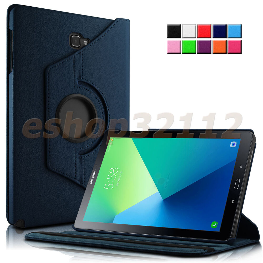 rotating case cover for samsung galaxy tab a 10 1 inch with s pen sm p580 tablet ebay. Black Bedroom Furniture Sets. Home Design Ideas