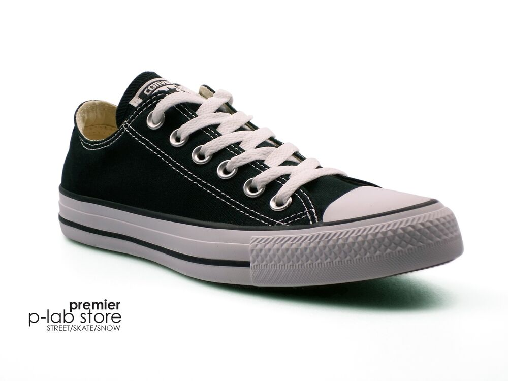 893ca6ffd9dbcd Details about Converse Chuck Taylor All Star Ox Low Top Black Canvas Unisex  Trainers. New
