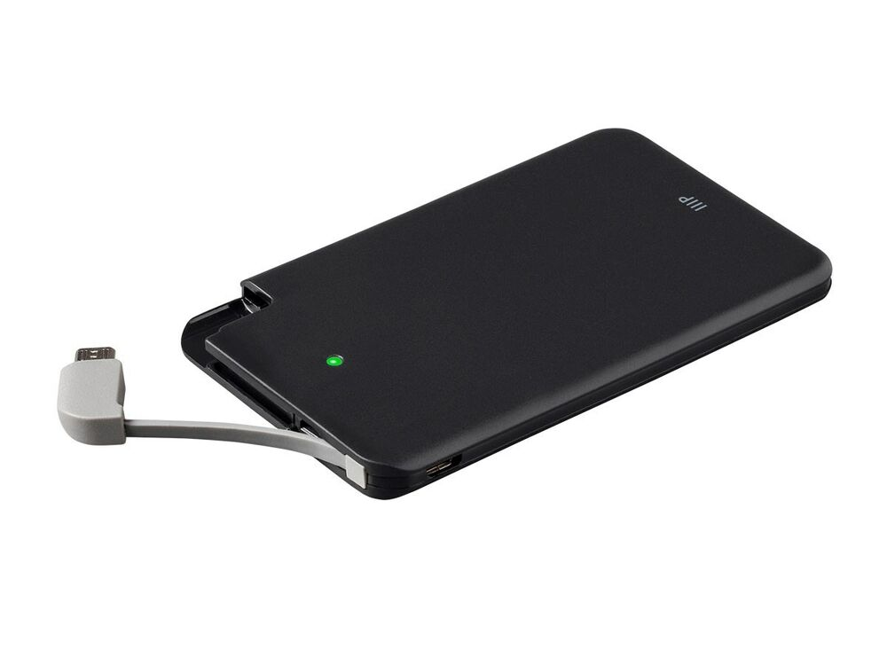 Wireless Phone Charger: Portable Cell Phone Charger With USB Micro-B, 2500mAh