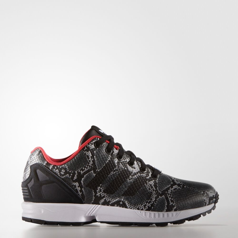 Details about Adidas ZX Flux Shoes Women s Sneakers B35310 NWT NIB Black Tomato  RARE 0cf7fa45e