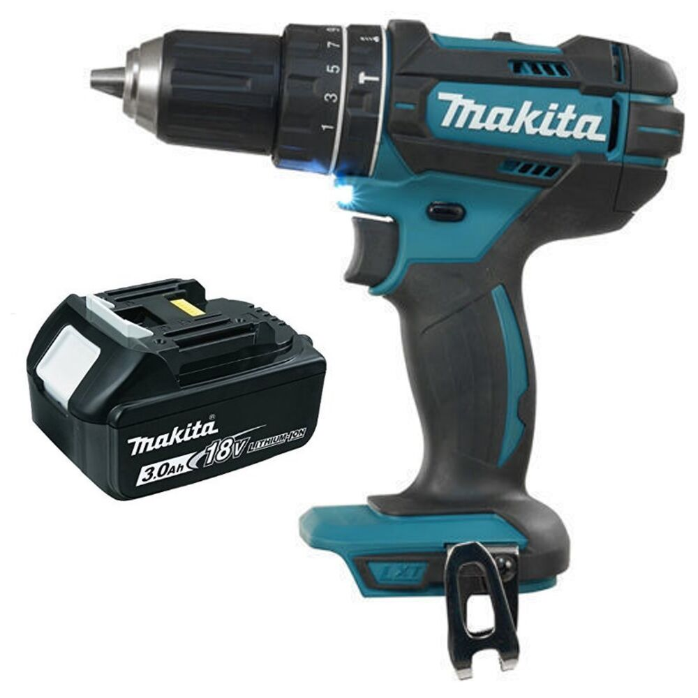 makita dhp482z 18v lxt cordless combi drill driver. Black Bedroom Furniture Sets. Home Design Ideas