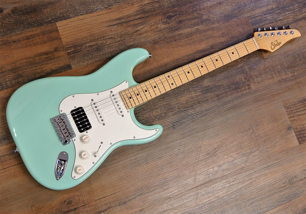 new suhr classic pro hss electric guitar surf green maple neck ebay. Black Bedroom Furniture Sets. Home Design Ideas