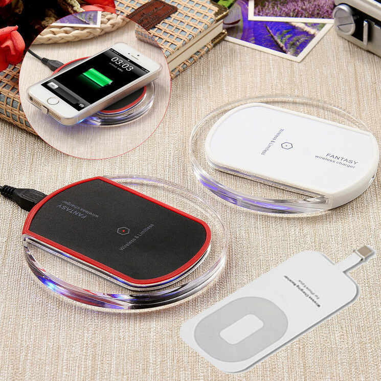 iphone charging pad qi wireless fast charger dock charging pad stand for apple 11744