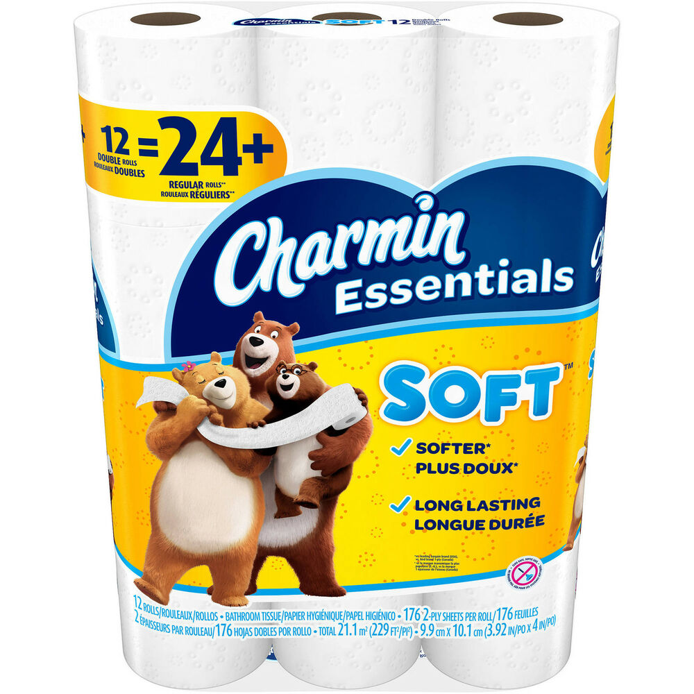 Quality Charmin Soft 12 Double Rolls Ultra Soft Comfort
