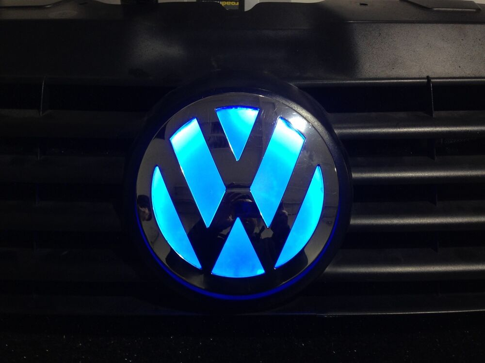 Glowing Vw Camper Grill Badge T5 Transporter Crafter