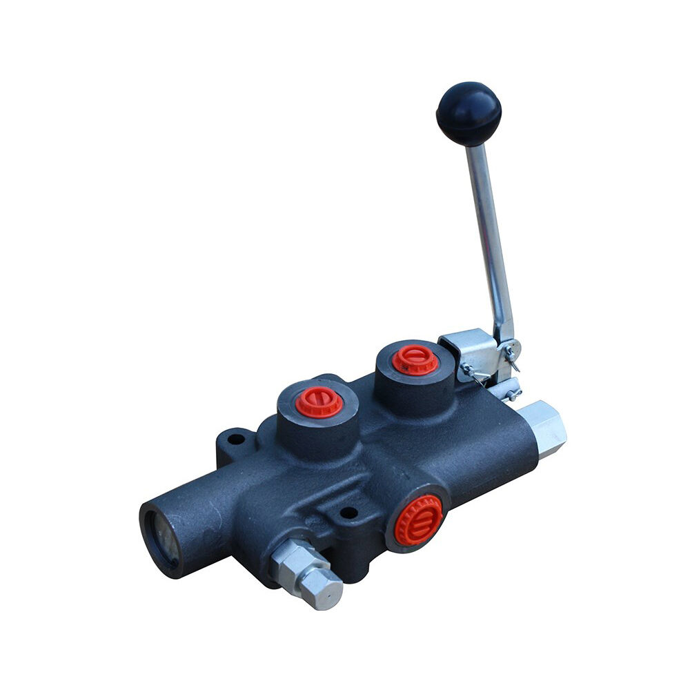 Hyd Control Valve Lever Knobs : Hydraulic log splitter lever control valve with auto kick
