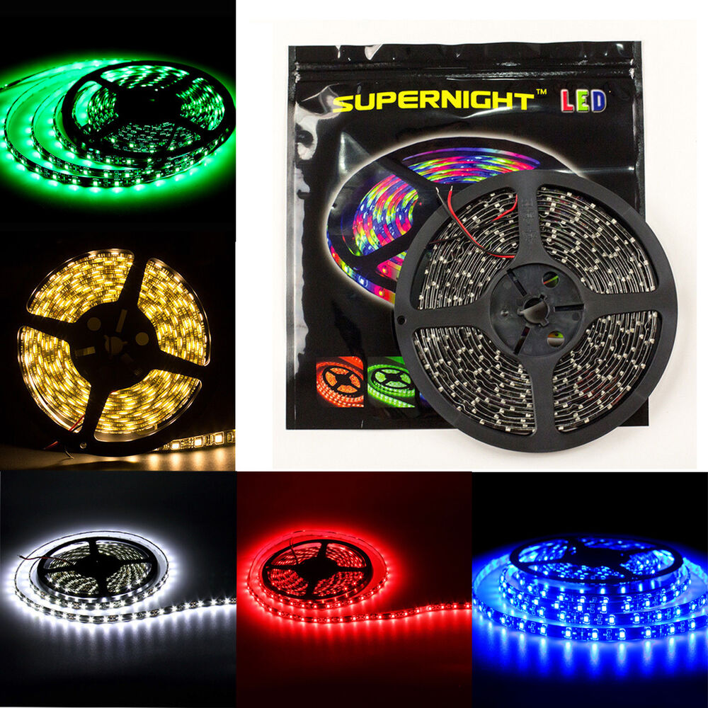 SUPERNIGHT® 5M 3528/5050 SMD 300/150 LEDs Strip Light ...