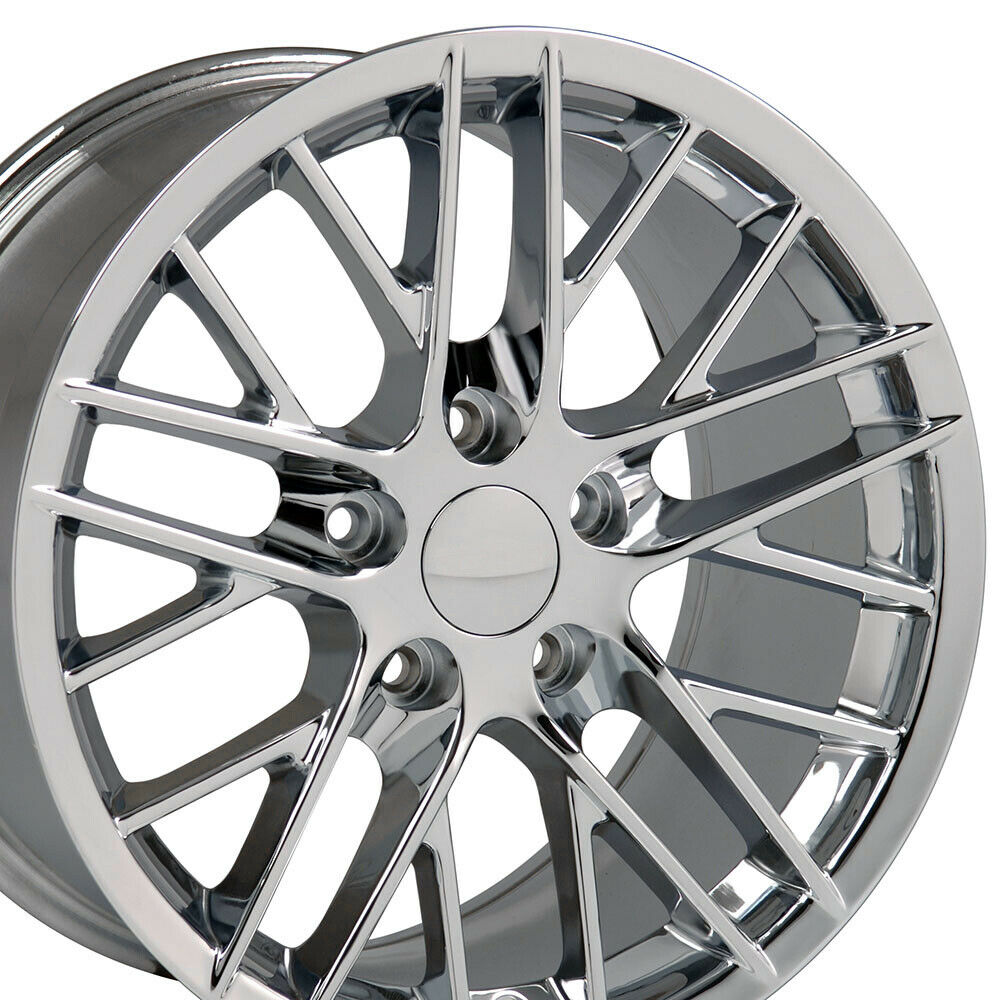 17x9 5 Chrome C6 Corvette Zr1 Style Wheels 17 Quot Rim Fits