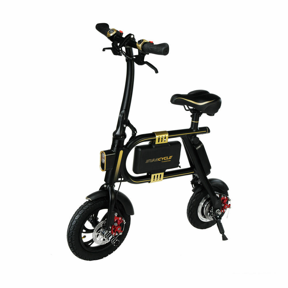 Swagcycle Fast Folding Electric Bicycle Aluminum E Bike