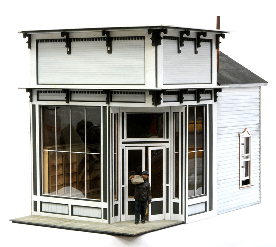 F G Scale Banta Model Works 8081 The Bakery Ebay