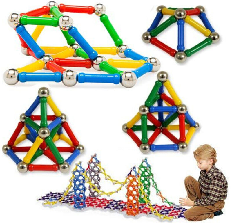 Construction Toys For Girls : Boys girls magnetic construction toys kids building sets