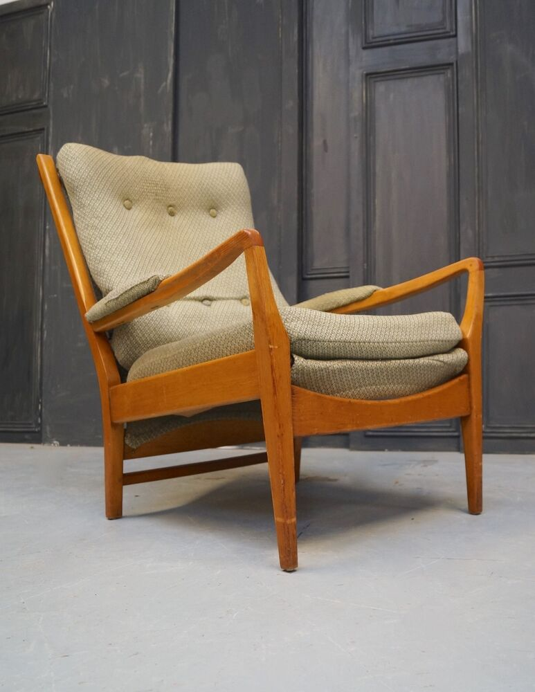 Mid century armchair by cintique vintage retro we can for Armchair vintage