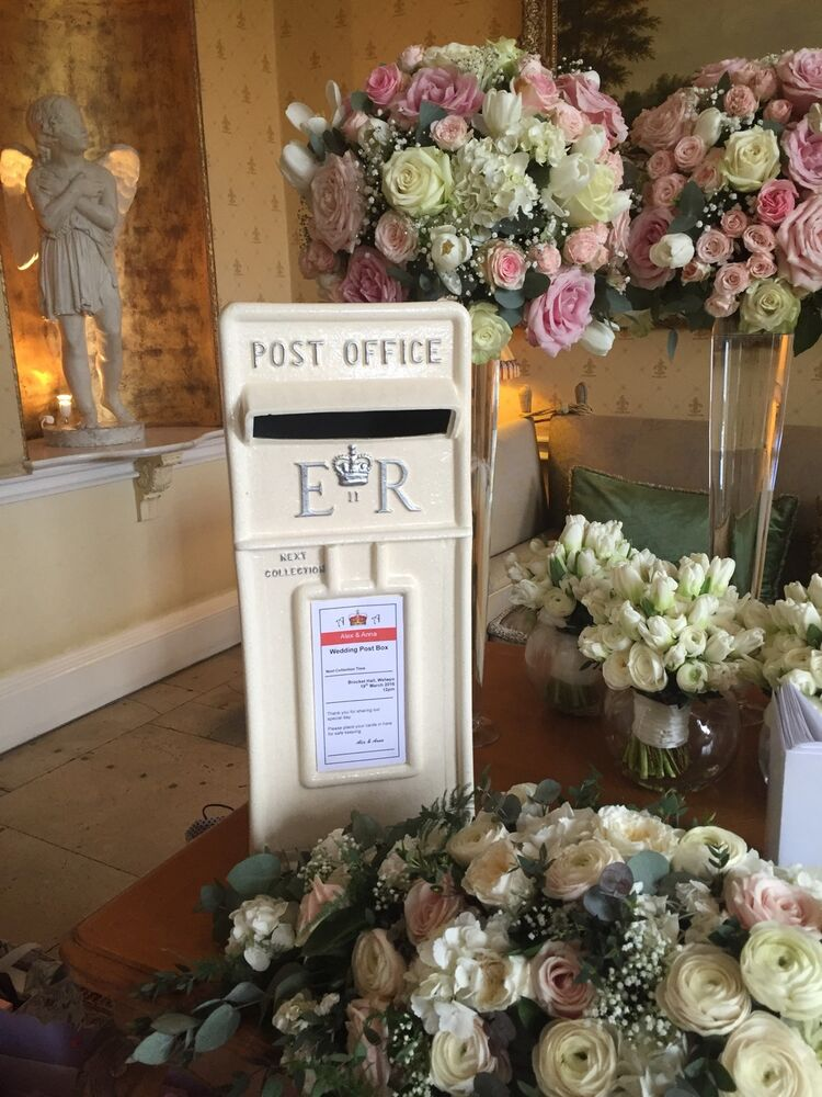 Wedding Gift Box Hire : Wedding Replica Royal Mail Post Box Hire, - Ivory & Silver Fine ...