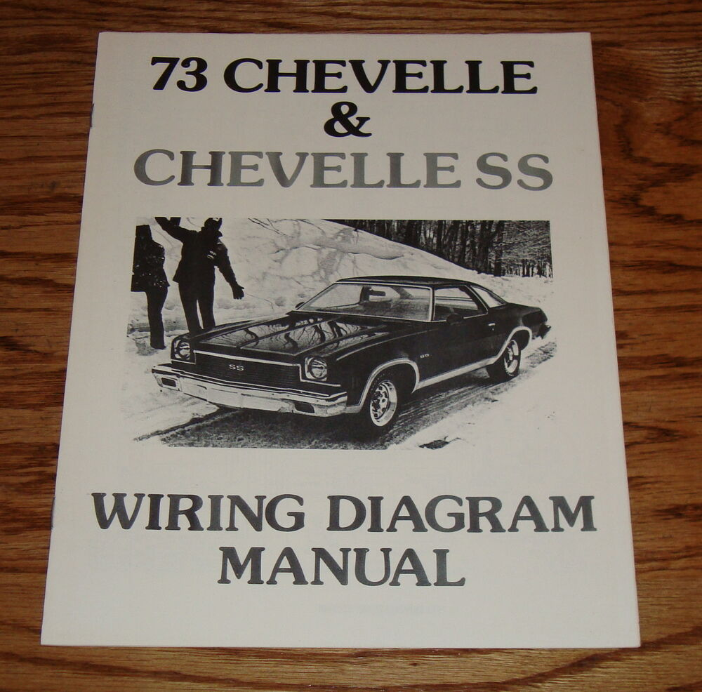 1973 chevrolet chevelle ss wiring diagram manual 73. Black Bedroom Furniture Sets. Home Design Ideas